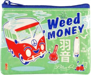 Coin wallet weed money